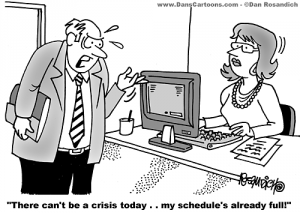Today cartoon joke  Crisis