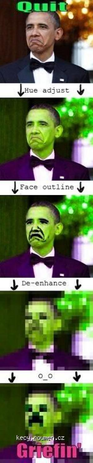 X Obama be Griefin