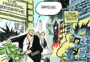 amateur rioters