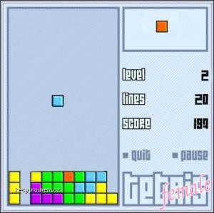 tetris female