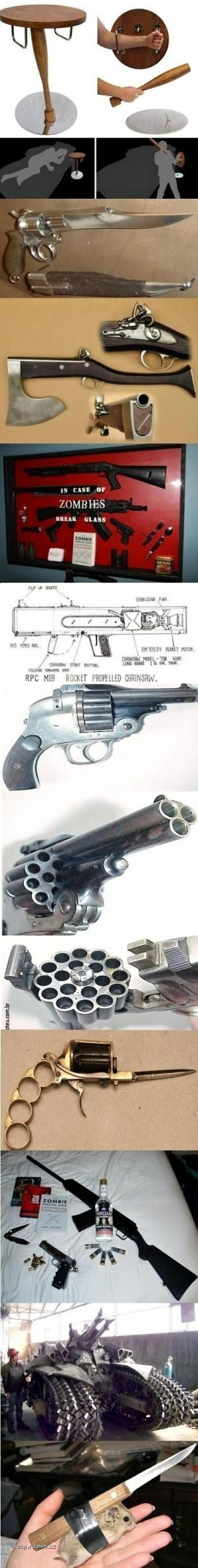 Weapons For When The Zombie Apocalypse Comes