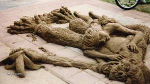sand ape