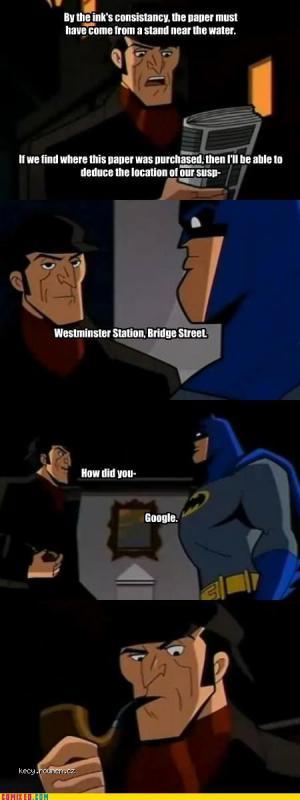 holmes vs batman