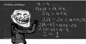 troll math problem
