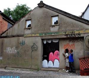 street art  mouth