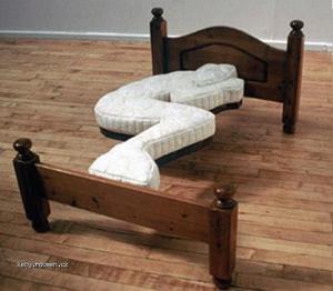postel pro asketa