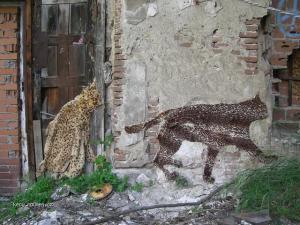 Weird Anti Animal Fur Guerilla Art2