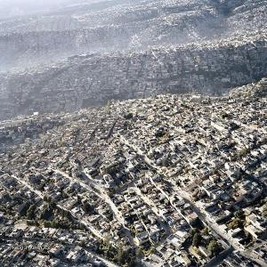 Mexico City carpets the earth