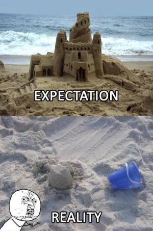 Expectation  reality II