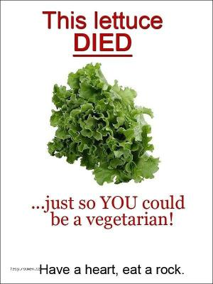 X Send this to your vegetarian friends