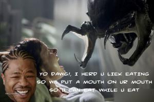 Yo Dawg alien