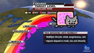 huricane threat