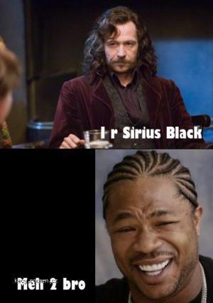 I r serious black