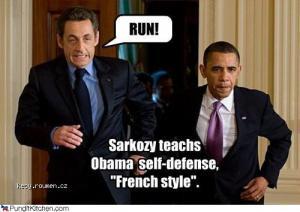 sebeobrana na francouzsky zpusob