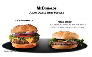 Fast Food Advertising Vs The Truth1