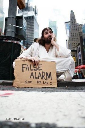 False alarm III