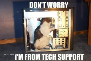 techsupport cat