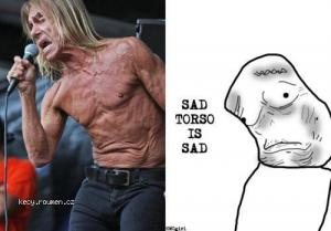 Sad torso