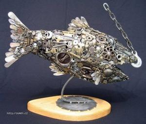 Metal Junk to Artistic Sculptures2
