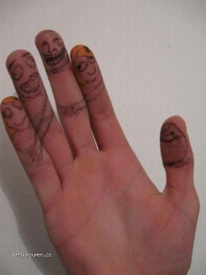 alone finger