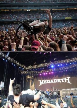 megadeth fans