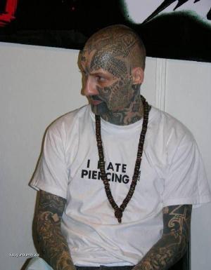 i hate piercing
