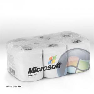 microsoft toilet rolls