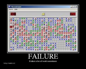 minesweeper failure