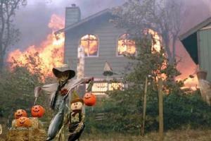 vesely Halloween v Kalifornii