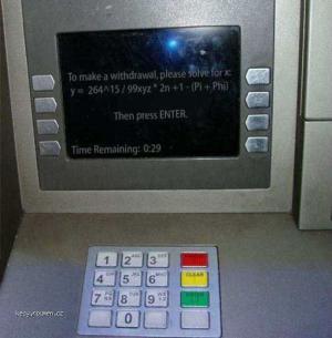 drsnej bankomat