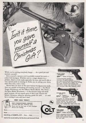 Z historie Christmas gift