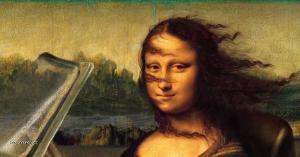 Mona Lisa jede