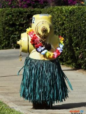 hula hula hydrant