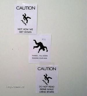 X Caution