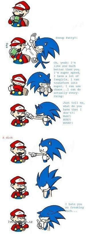 X Mario Vs