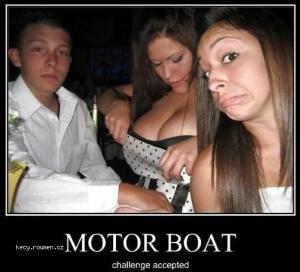 X Motor Boat