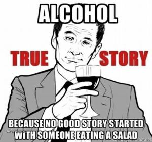 Alcohol true story