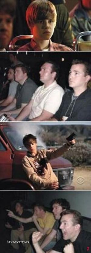 Bieber finally