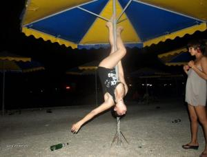 Trening na plazi