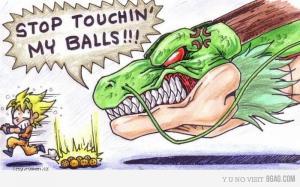 stealin my balls