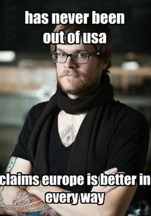 X Hipsters And Europe