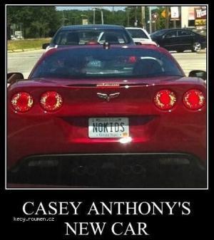 Casey Anthonys New Car