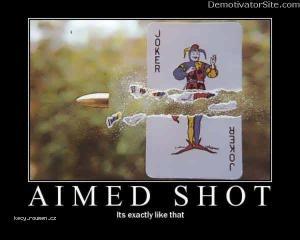 aimed shot
