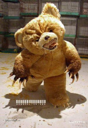 medvidek z Bogoty