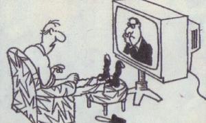 Jen já, gauč a televize