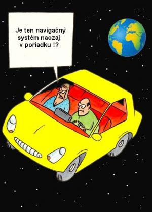 Špatný navigační systém