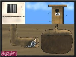 Když se snažíš utéct z vězení