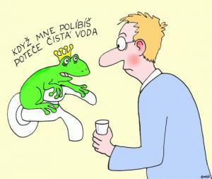 Co se stane, když políbíš žábu
