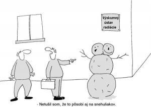 Výzkumné testy na sněhulácích