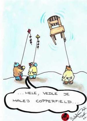 Hele, to je Copperfield